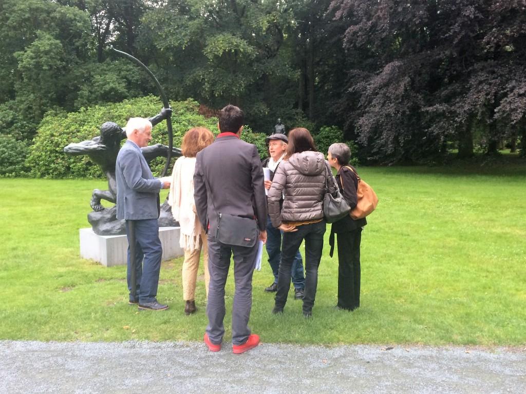 Museum Middelheim, zaterdag 18 juni: Jan Crab aan het woord.